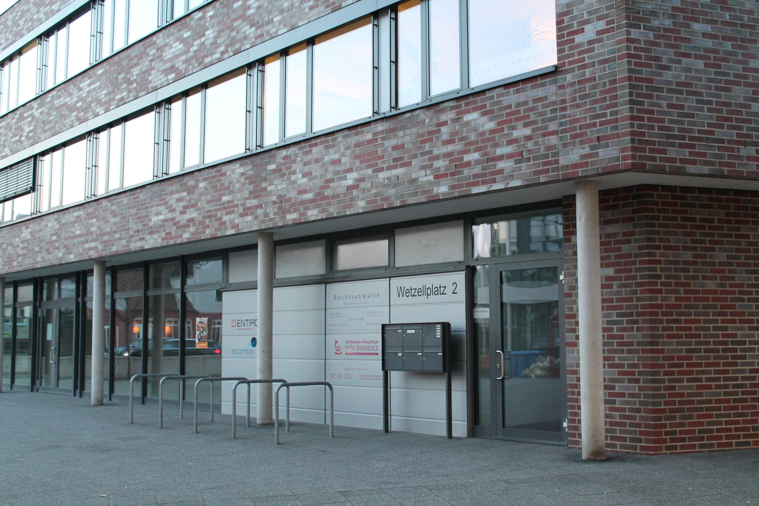Gebäude des Rechtsanwalts Stefan Krull